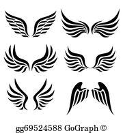 Wings Clip Art.