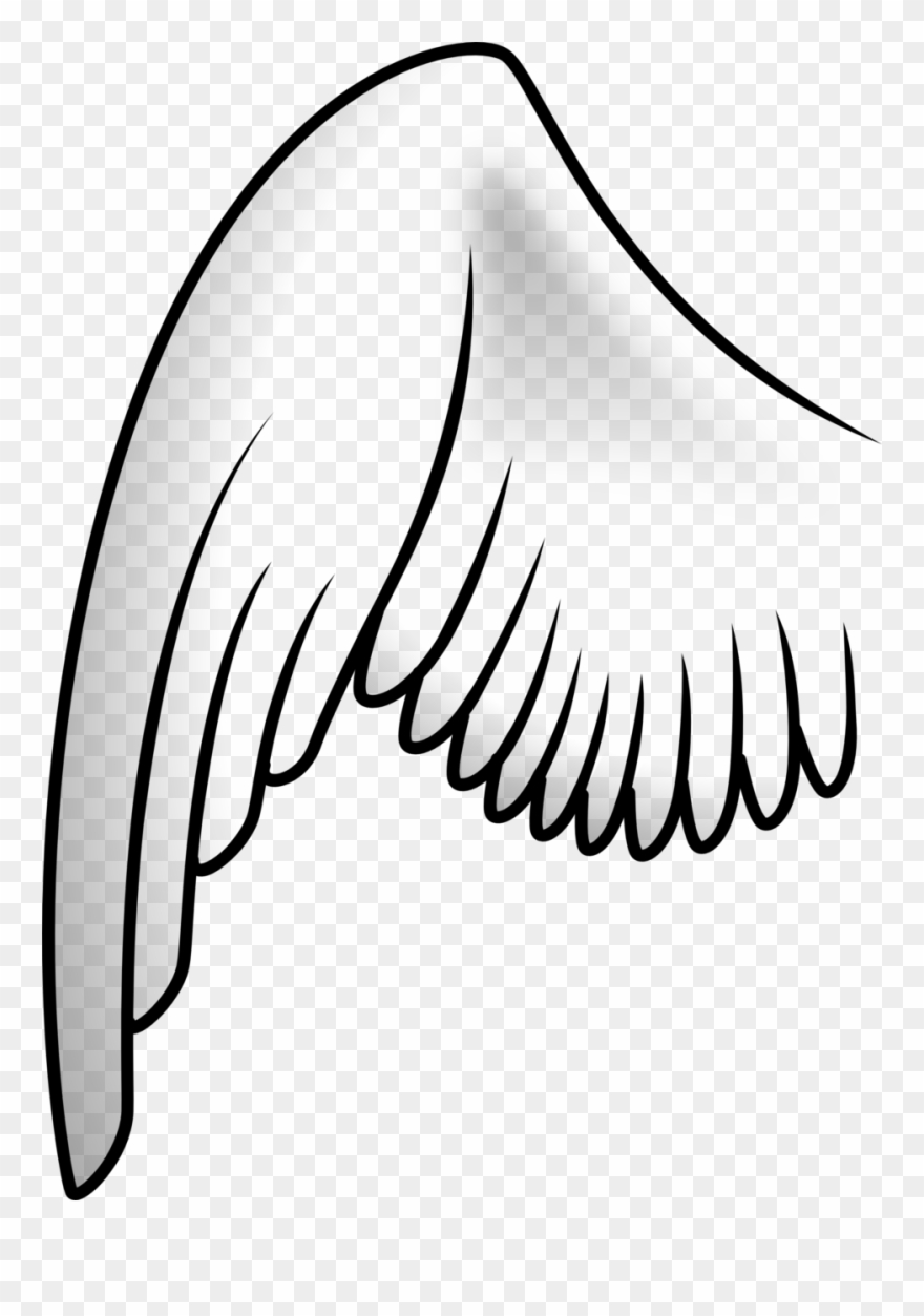 Tattoo Clip Art Download Angel Wing Drawing.