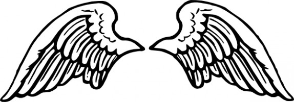 Angel wings angel wing clip art image.