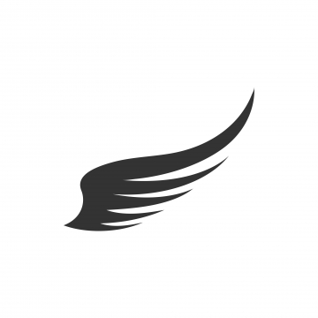 Wings Silhouette PNG Images.
