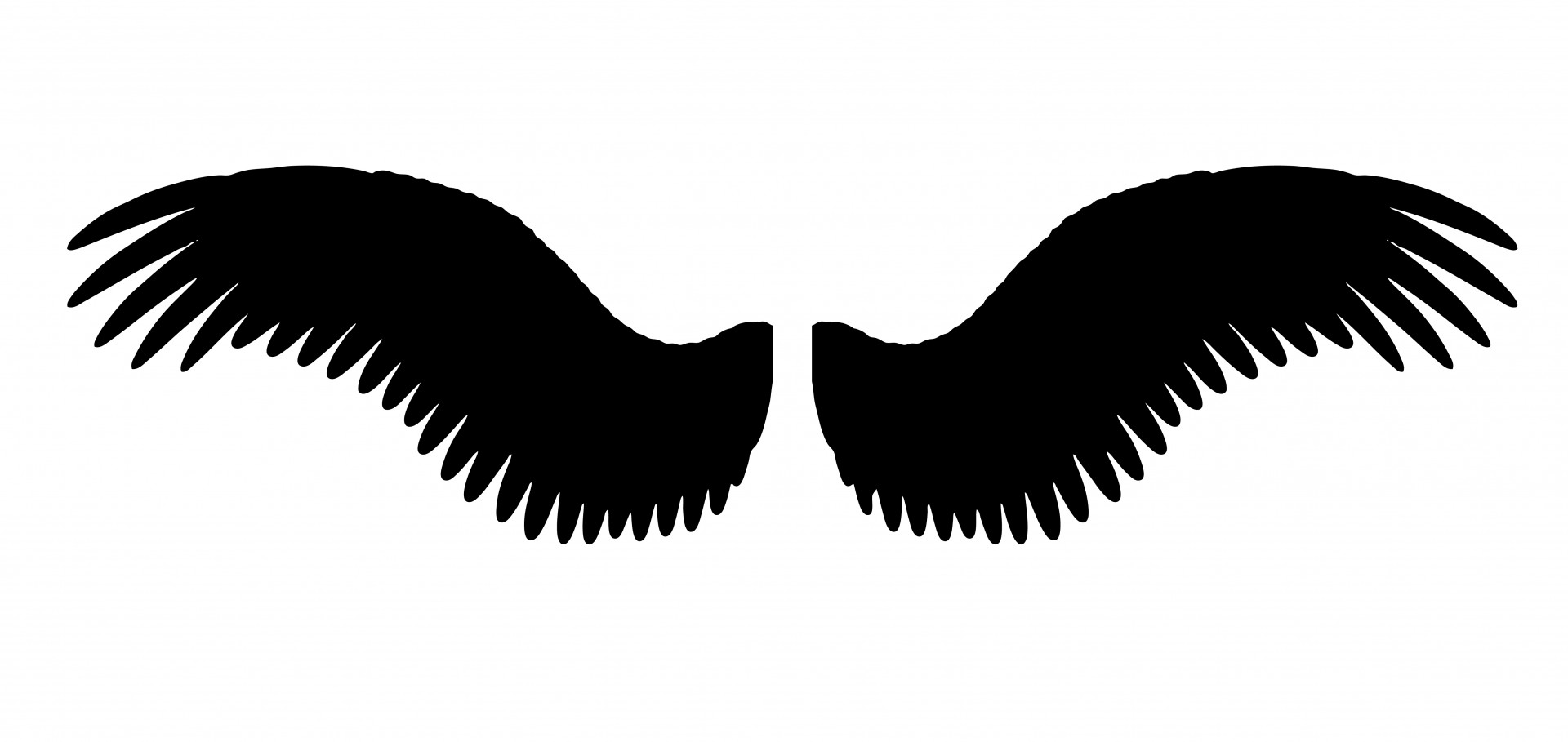 Wings Clipart Free Stock Photo.