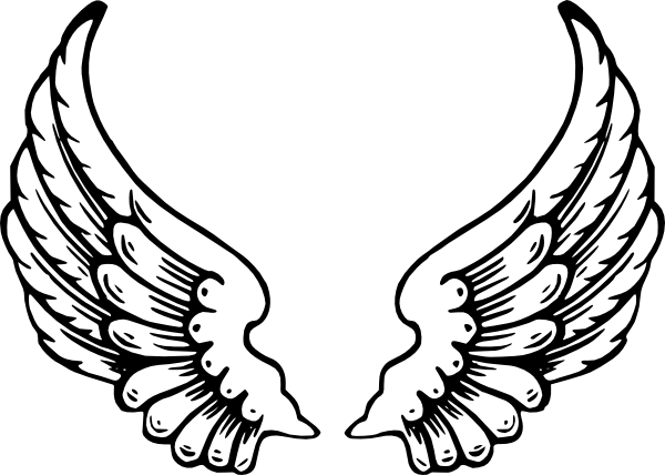Angel Wings Clip Art at Clker.com.
