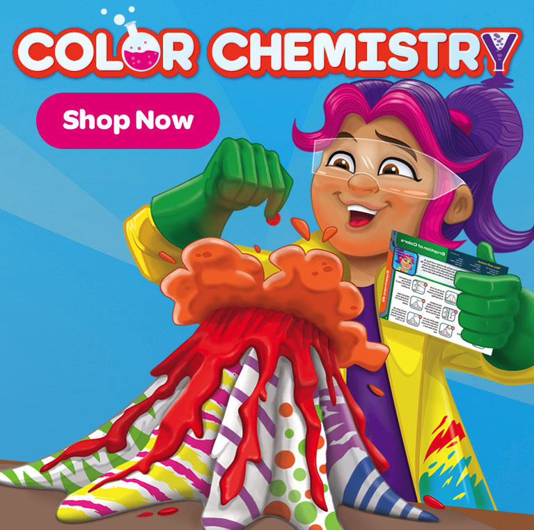 Color Chemistry Set, Kids Learn About Science.