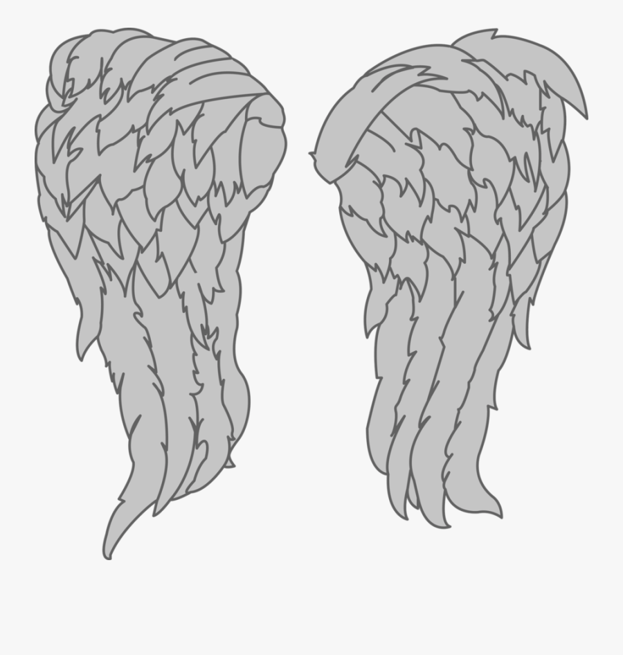 Walking Dead Daryl Wings Png , Free Transparent Clipart.