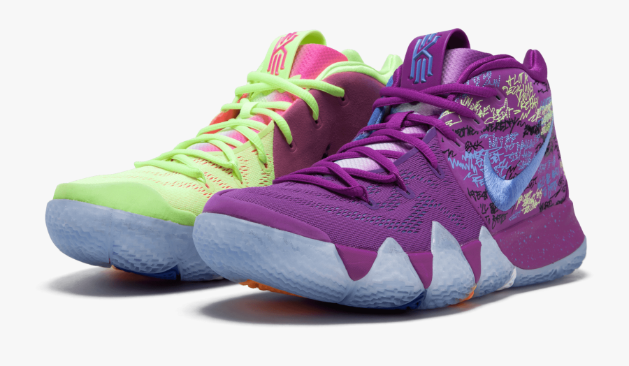 Different Color Basketball Shoes.