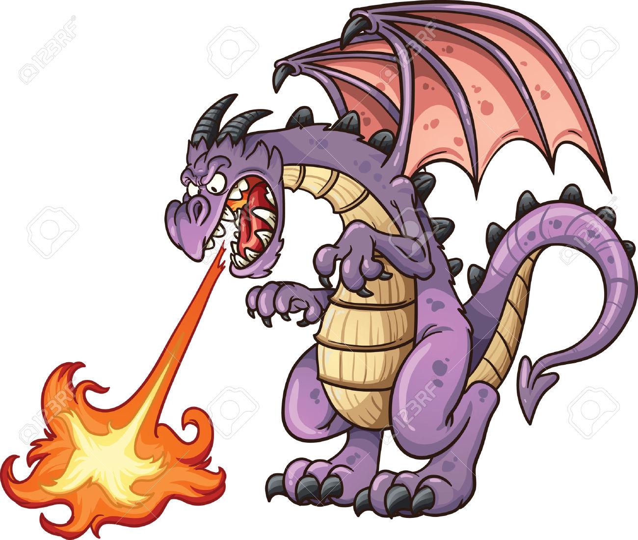Mean Dragon Clipart.