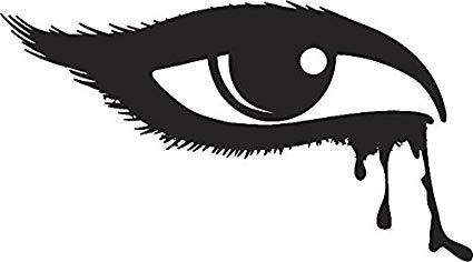 Amazon.com: Pretty Dark Winged Eyeliner Eye Makeup Cartoon.