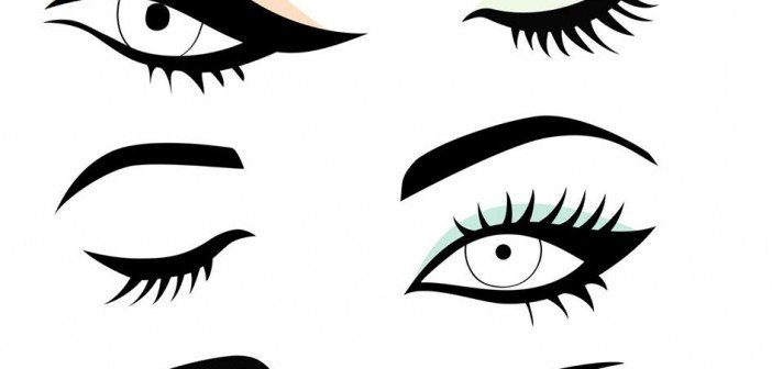 How to Do Winged Eyeliner Makeup.