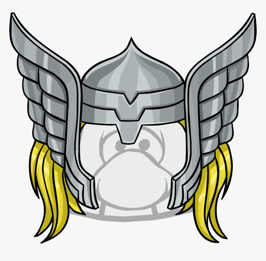 Transparent Thor Helmet Clipart.