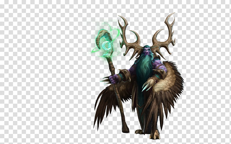 Malfurion Stormrage Heroes of the Storm, winged man with.
