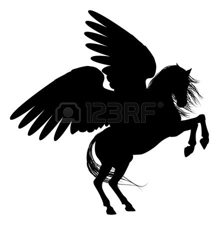 655 Winged Horse Stock Illustrations, Cliparts And Royalty Free.