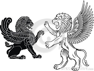 Free download Winged Lion Clipart for your creation. in 2019.
