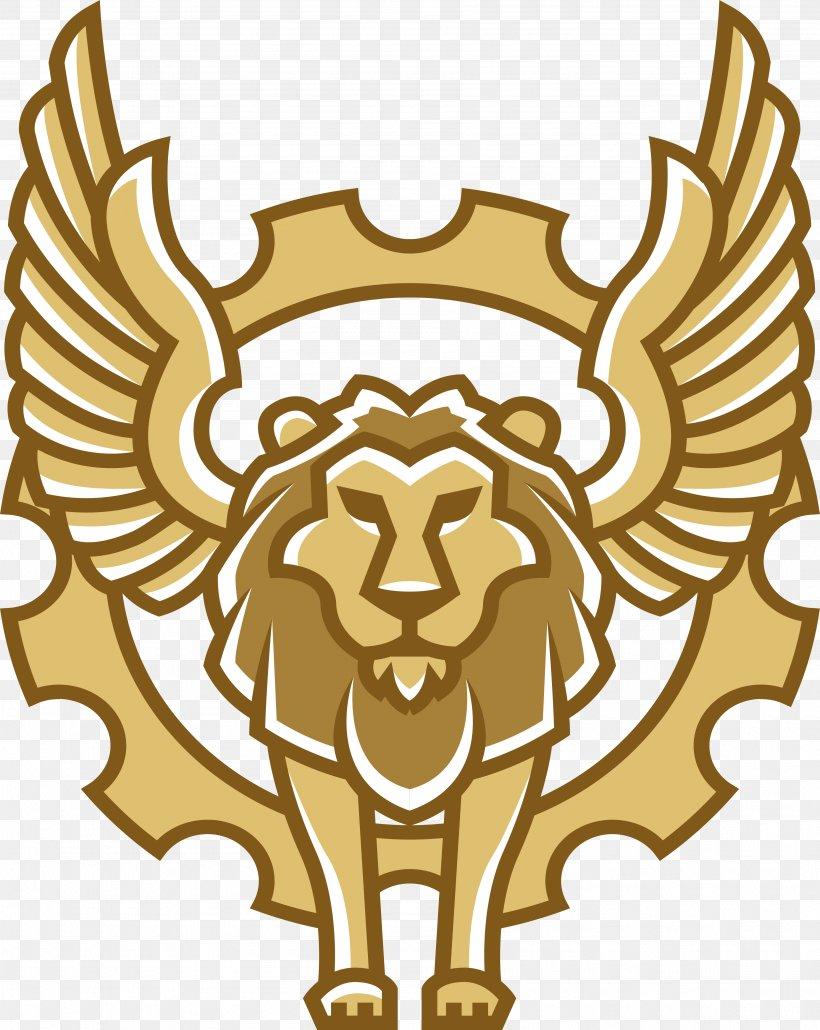 Winged Lion, PNG, 3592x4514px, Lion, Big Cats, Carnivoran.