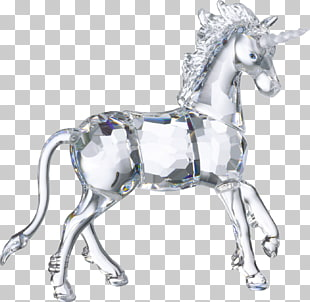 Swarovski AG Unicorn The Glass Menagerie Crystal Tom.