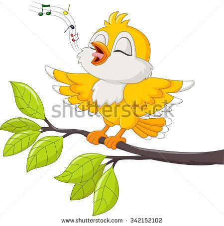 Singing Birds Stock Photos, Royalty.