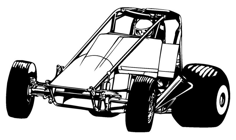 Sprint Car Coloring Pages. Race Car Coloring Pages Online Race Car.