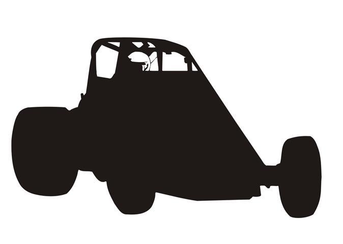 Sprint Car Silhouette.