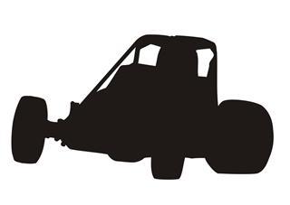 Sprint Car Silhouette at GetDrawings.com.