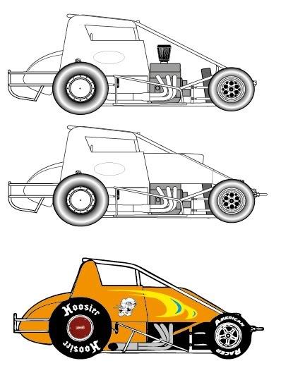 Sprint Car Drawing at GetDrawings.com.