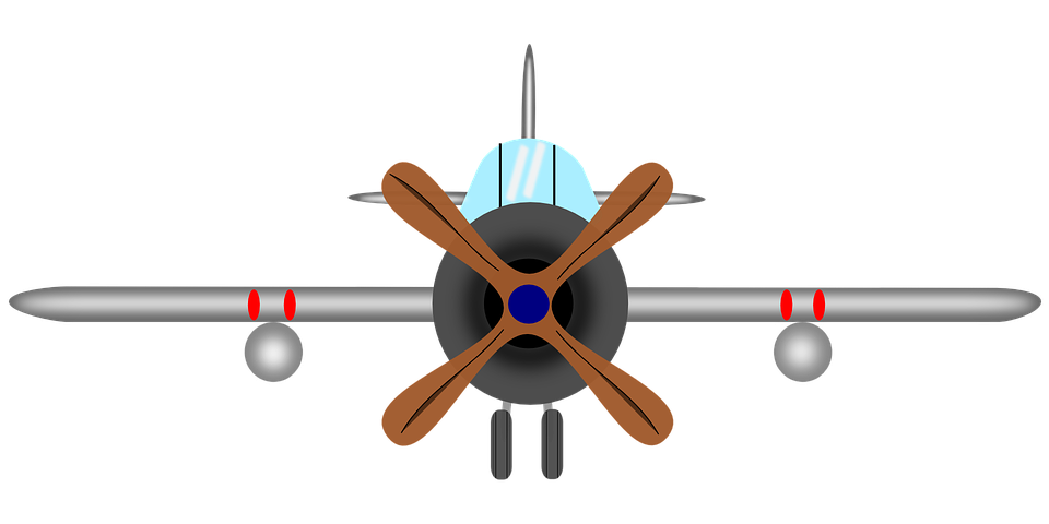 Airplane Aircraft Clip art Propeller Openclipart.