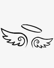 White Angel Wings PNG, Clipart, Angel, Angel Clipart, Animal.