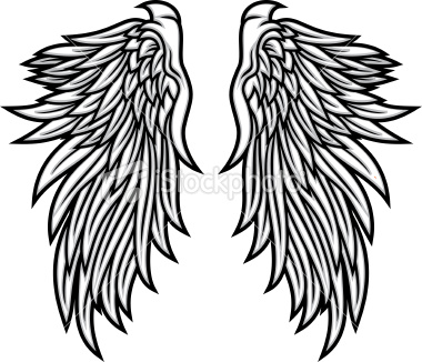 clipart of wings #18