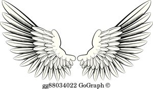 Angel Wings Clip Art.