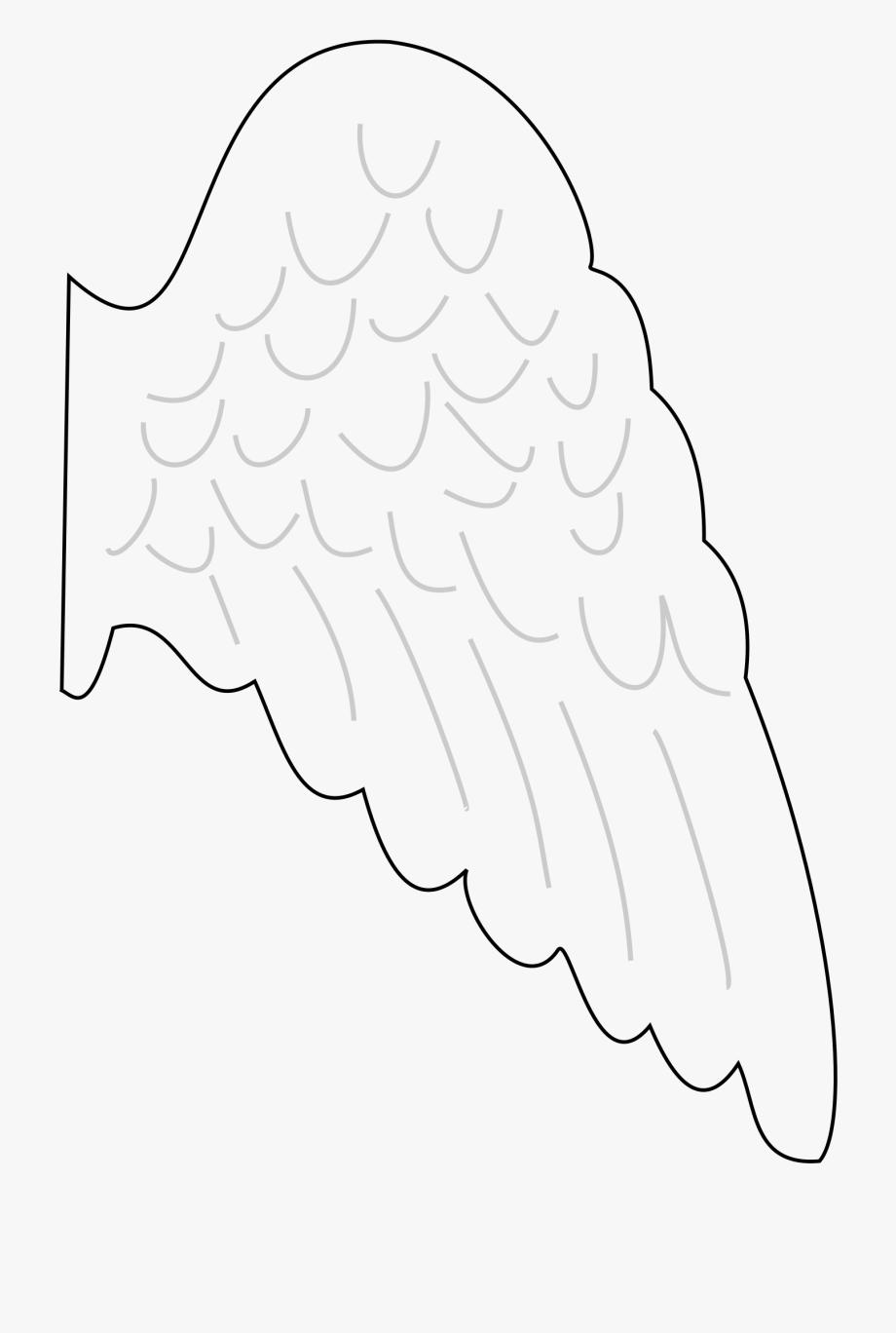 angel wings template.