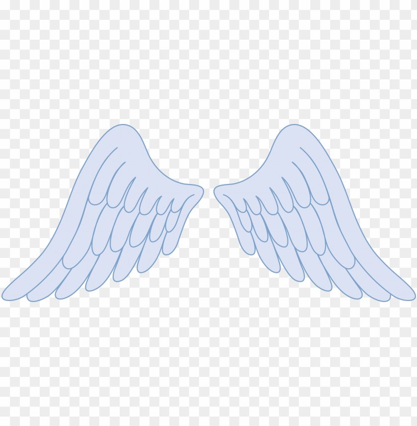 angel wing clip art free vector of angel wings tattoo.