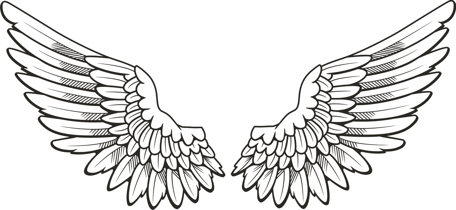 Angel Wings Png Clipart.