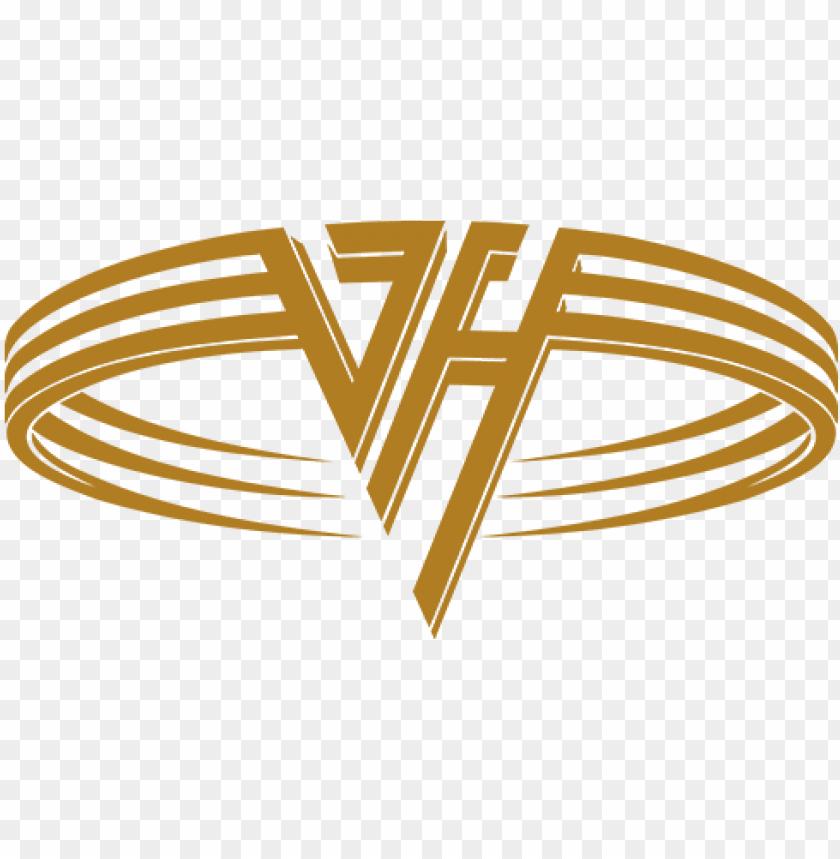 van halen logo PNG image with transparent background.