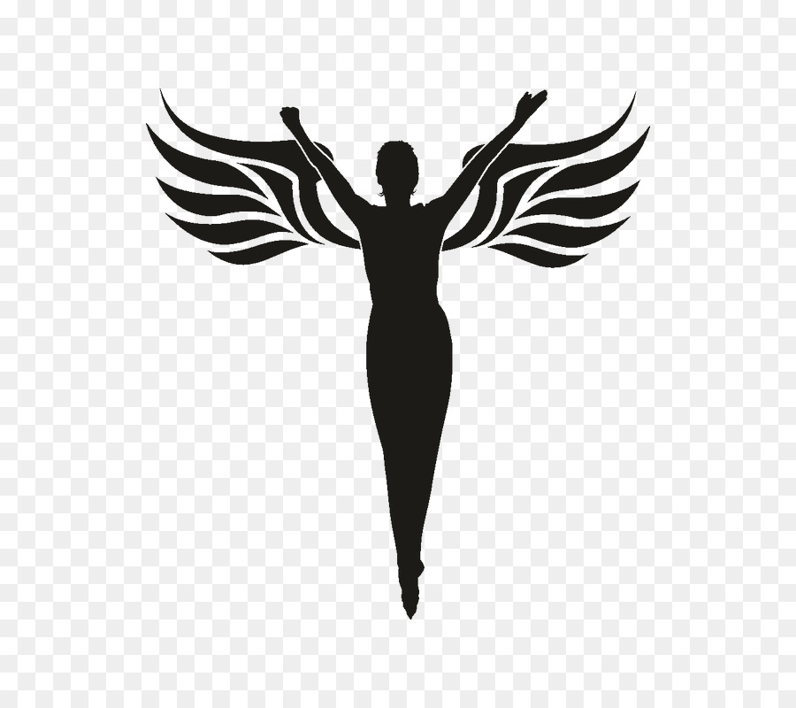 Free Silhouette Of Angel Wings, Download Free Clip Art, Free.