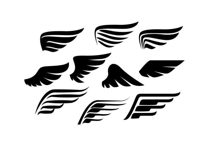 Wings Free Vector Art.