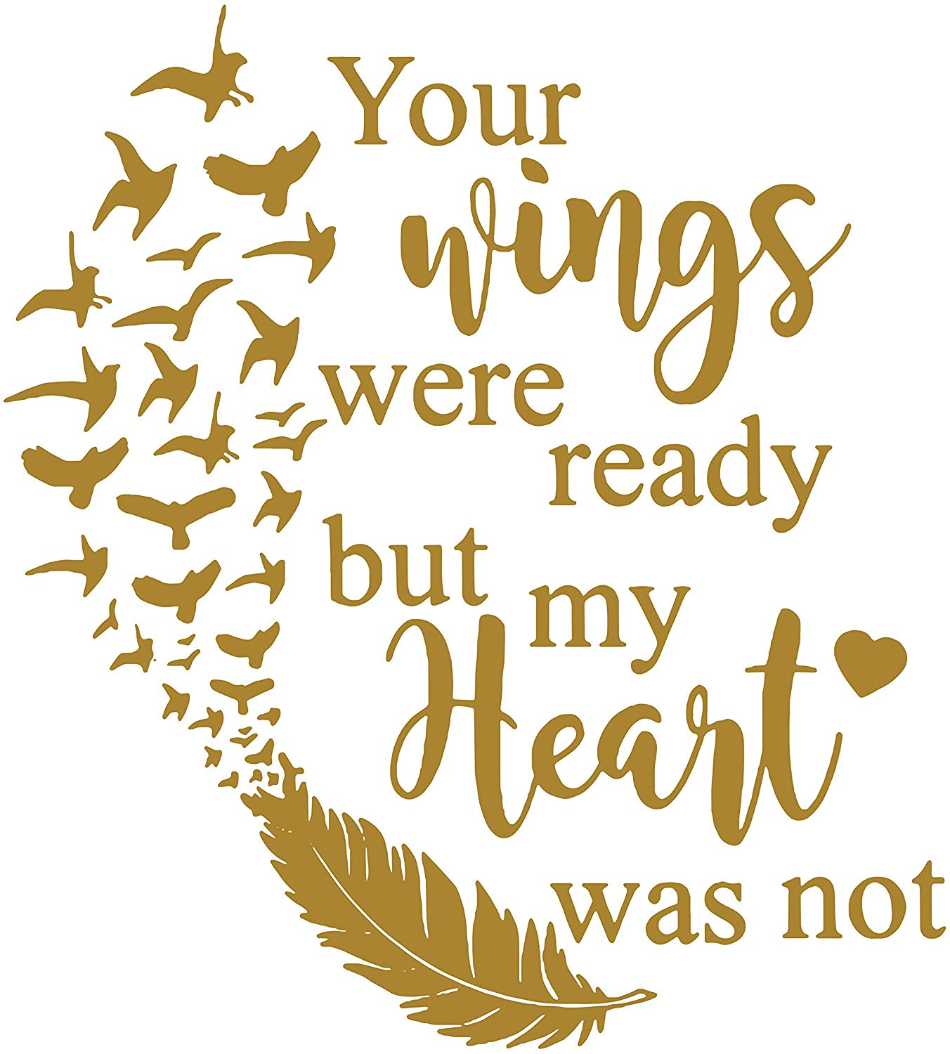 Amazon.com: Omega Your Wings were Ready but My Heart was not.