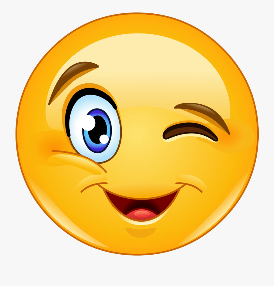Smiley Clipart Eyelash.