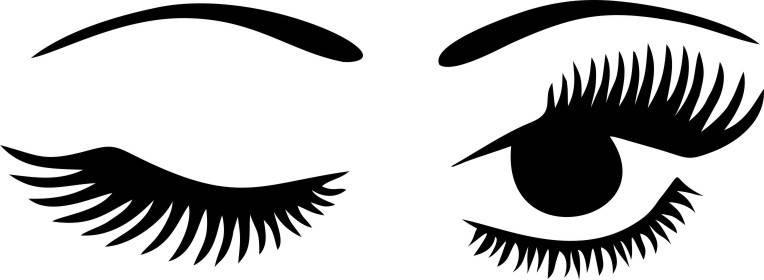 Eyelash clipart wink, Eyelash wink Transparent FREE for.