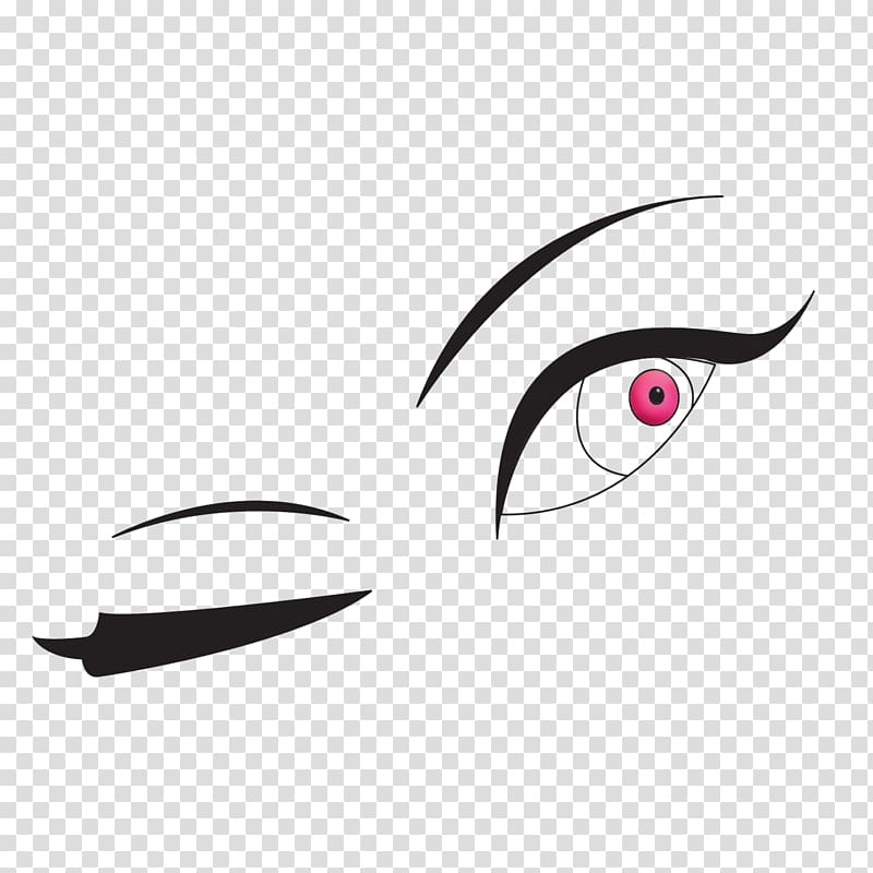 Wink Eye Smiley , Wink transparent background PNG clipart.