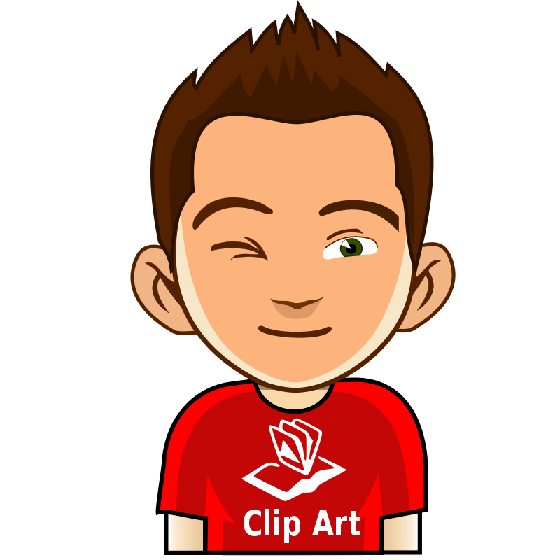 Clip art wink.