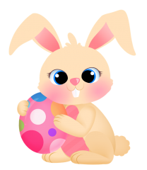 Free Easter Bunny Clipart, 2 pages of free to use images.