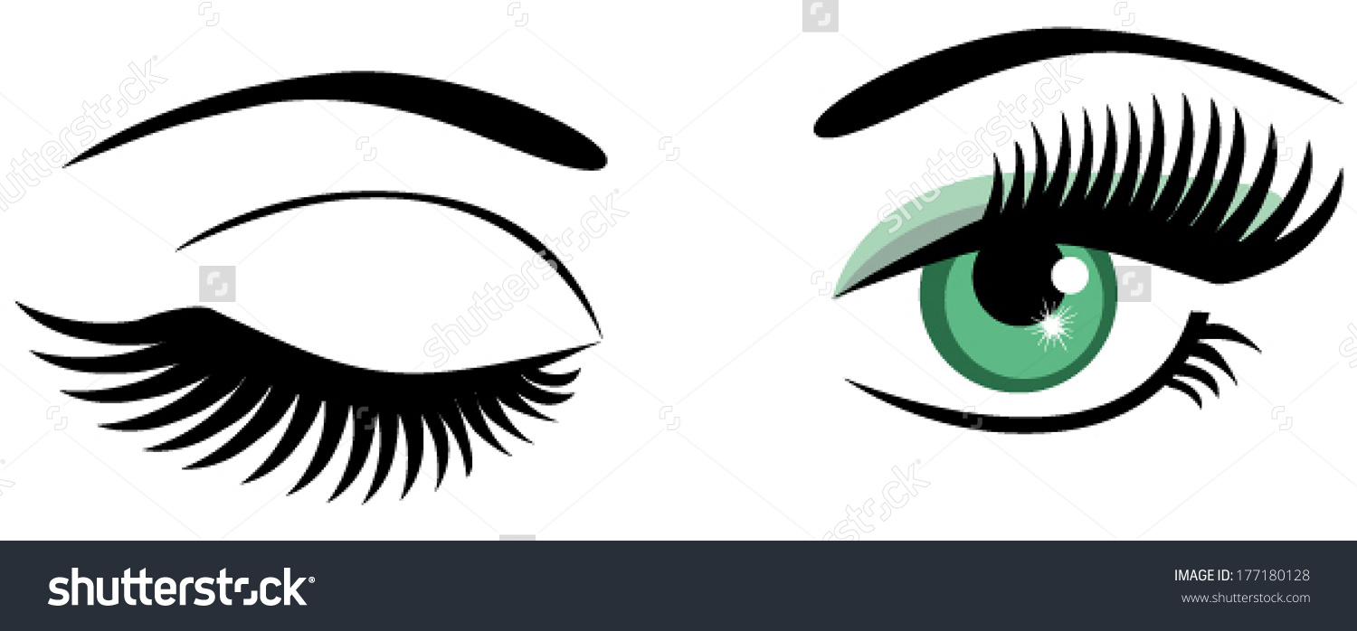 winking eyes clipart clipground Funny Winking Eyes Clip Art Winking Eye Drawing