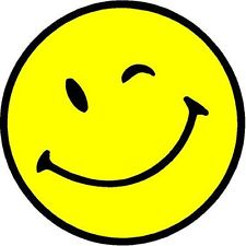 Winking Smiley Face Clipart.