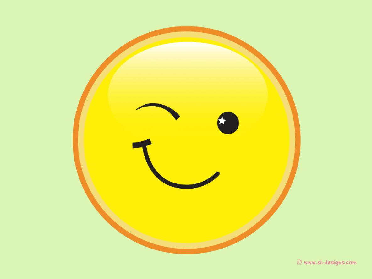 Free Winking Smiley Faces, Download Free Clip Art, Free Clip.
