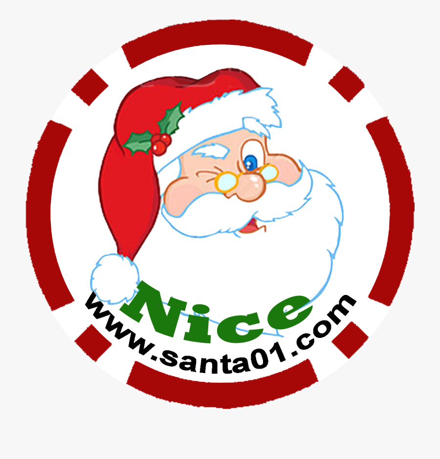 Transparent Santa Claus Signature Clipart.
