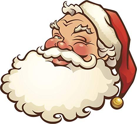Amazon.com: Jolly Winking Christmas Holiday Santa Claus.