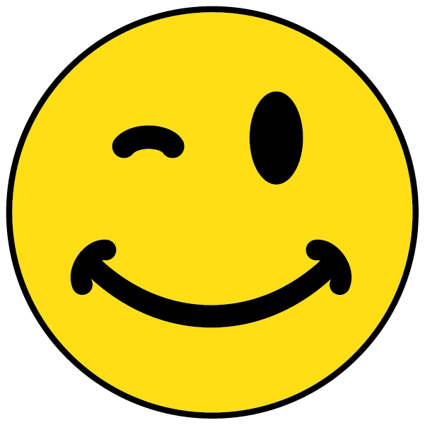 Free Winking Smiley Face, Download Free Clip Art, Free Clip.