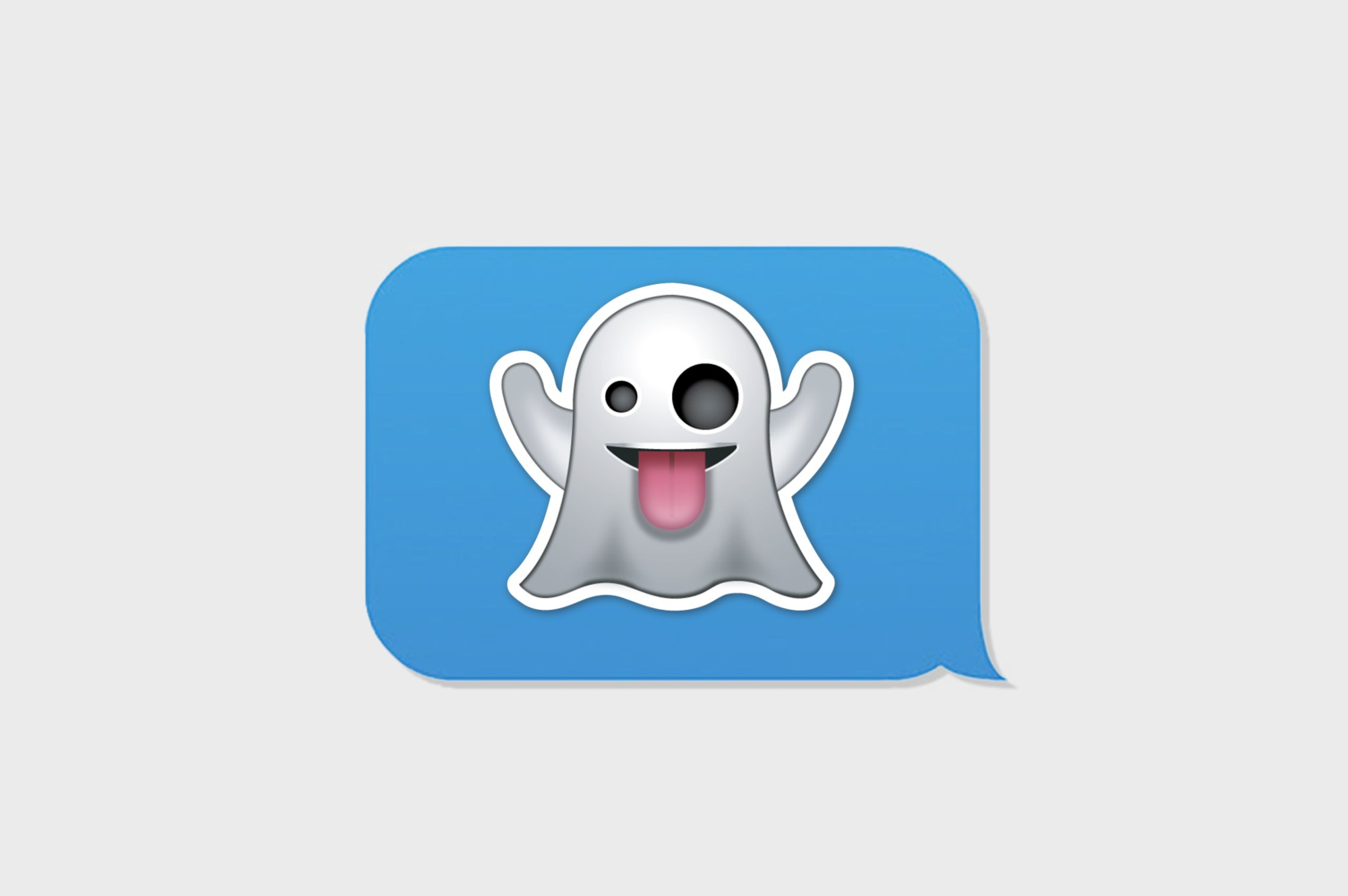 The Ghost Emoji Is Perfect.