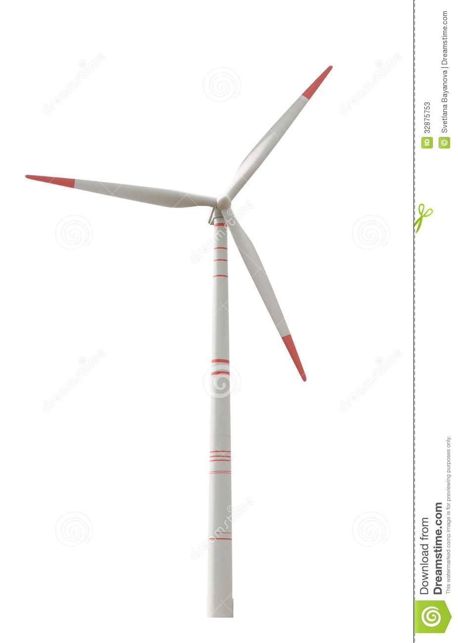Windkraftanlage Stockfotos.