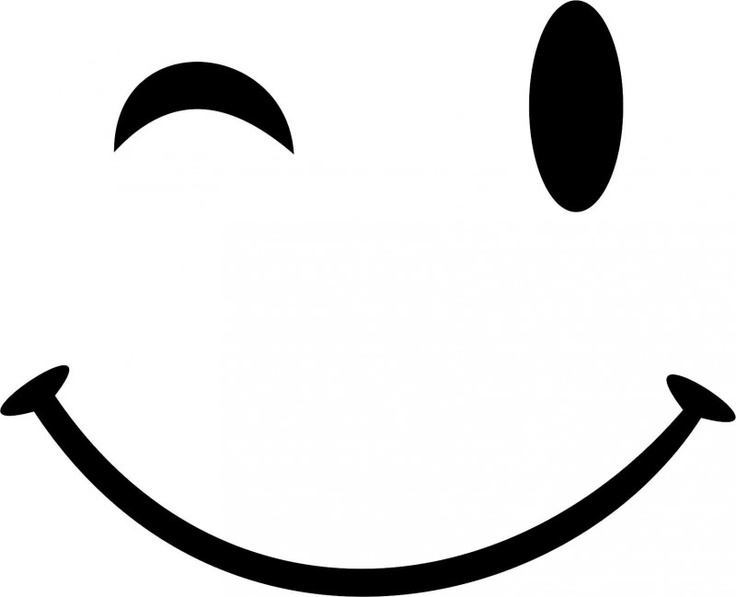 Wink Face Clipart.