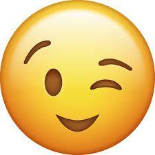 Image result for winky face emoji.