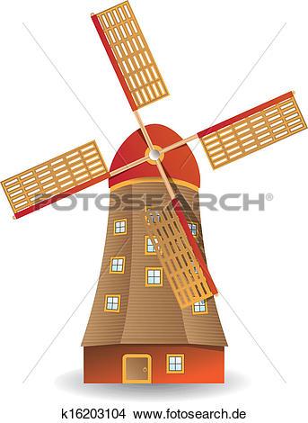 Windmühle Clip Art Vektor Grafiken. 6.796 windmühle EPS Clipart.